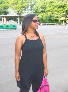 At the skate park in Japan