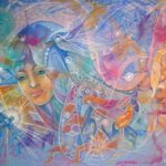Love - Visionary art by Nicole Mizoguchi - Love is everywhere! Enjoy it.