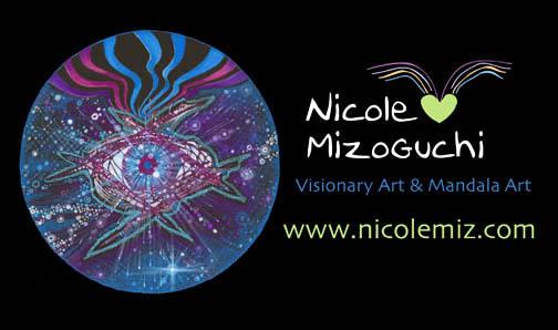 nicole mizoguchi visionary artist www.nicolemiz.com