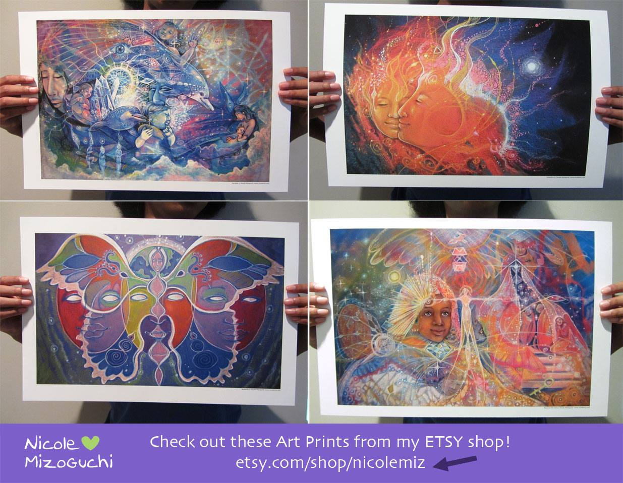 nicole mizoguchi art prints on etsy shop